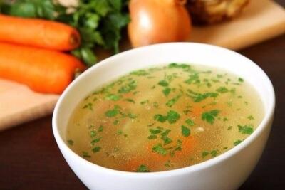 Бабб – суп из курицы