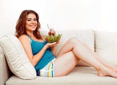 как похудеть сидя дома зимой