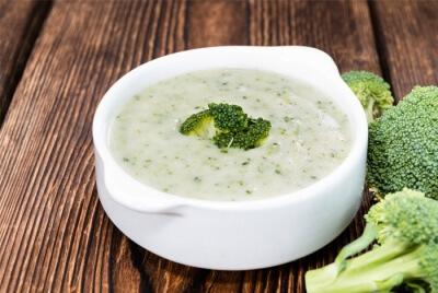 Крем суп брокколи