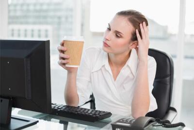 Усталость и неспособность сконцентрироваться.